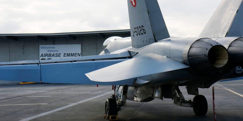 Airbase Emmen During The Eurofigher Evaluation, Emmen, Luzern, Switzerland