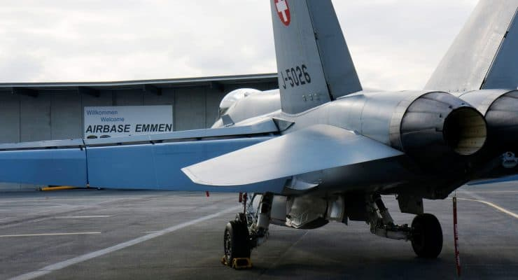 Airbase Emmen During The Eurofigher Evaluation, Emmen, Luzern, Switzerland