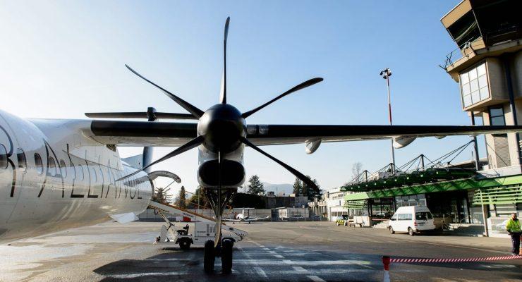 Flughafenareal Lugano Agno