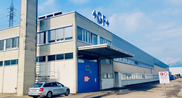 GF Produktionstätte Aussenansicht