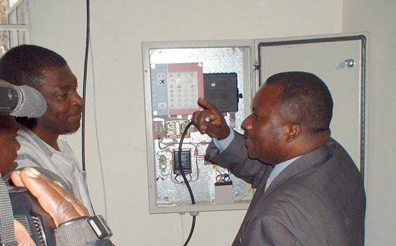 Schaltkasten Steuergerät Projekt Goma