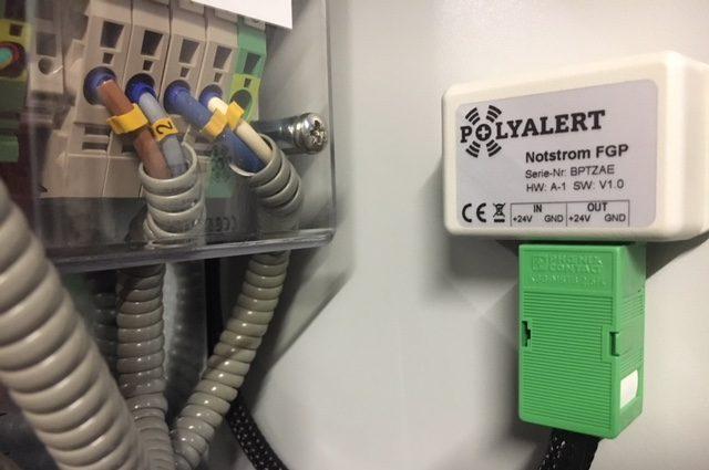 18 Watt Notstrombox Polyalert